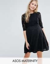 ASOS(エイソス) マタニティウェア・授乳服・グッズその他 ☆ASOS Maternity Premium Skater Dress in Lace☆