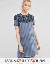 ASOS(エイソス) マタニティウェア・授乳服・グッズその他 ☆ASOS Maternity Deco Embellished Mini Dress☆