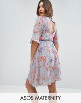 ASOS(エイソス) マタニティウェア・授乳服・グッズその他 ☆ASOS Maternity PREMIUM Pretty Skater Dress with Embroide☆