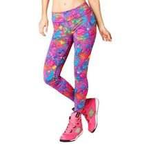 即納 ズンバ Queen Of The Jungle Perfect Long Leggings Pink