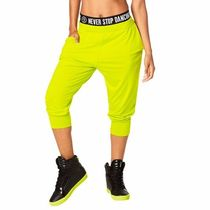 国内発送 ズンバ Team Zumba Harem Dance Pants Zumba Green