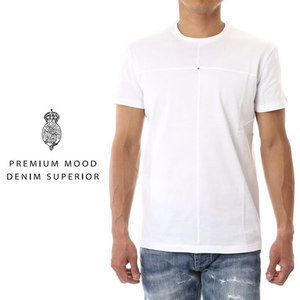 PREMIUM MOOD DENIM SUREROR Tシャツ コットンcruz-bianco