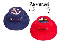 帽子・手袋・ファッション小物 【 Reversible Kid's Sun Hat 】★ First Mate / Captain