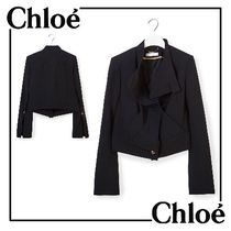 Chloe(クロエ) ジャケット 2017SS◆Chloe◇JACKET WITH GOLDEN BUTTONS