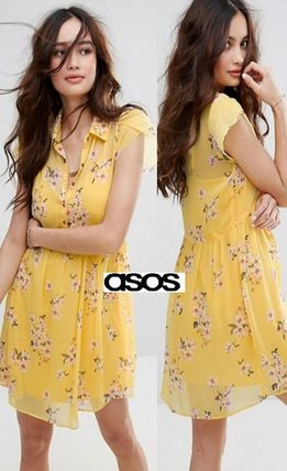 *ASOS*Abercrombie&Fitch Floral花プリントワンピ☆送関込☆