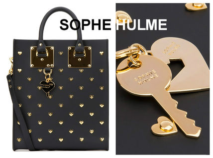 Sale SOPHIE HULME with strap tote bag miniALBION