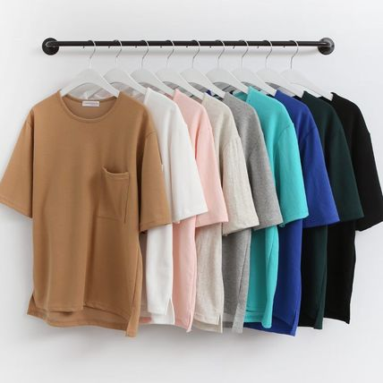 Tasty pocket-over type T shirt 9 color