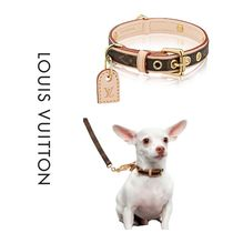 Louis Vuitton(ルイヴィトン) 首輪・ハーネス・リード 【国内発送】Louis Vuitton 首輪 ペット 小型犬用