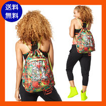 ZUMBA(ズンバ) スポーツその他 4月新作【送料無料】Queen Of The Jungle Drawstring Backpack