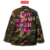 Sサイズ ANTI SOCIAL SOCIAL CLUB Never Change BDU/ camp