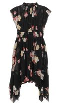 ★関税負担★ULLA JOHNSON★LUISA FLORAL SILK MINI DRESS