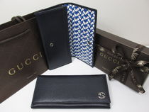 GUCCI★セール★新作LEATHER CONTINENTAL WALLET★即発送可能♪