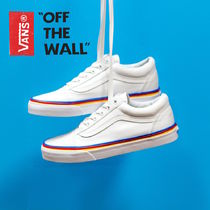 【USAモデル!】バンズ Vans Rainbow Foxing《OLD SKOOL》
