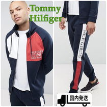 Tommy Hilfiger(トミーヒルフィガー) セットアップ 【新作!】Tommy Hilfiger/ロゴ セットアップ 上下2点セット