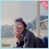 【Quay】新作入荷!激カワ♪ AFTER HOURS☆ サングラス ピンク