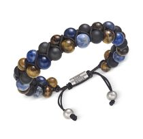 ★Steve Madden★Men's Multi-Colored 2-Strand Bracelet