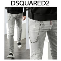 D SQUARED2 ★ 74LB0122 WIRE CHAIN WASHING  SLIM  FIT