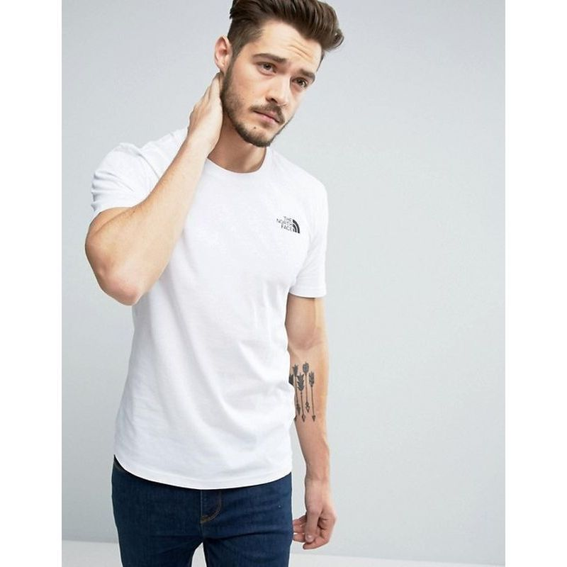 【THE NORTH FACE】 Simple Dome T-Shirt in White