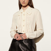 sale コーチ shirt with ruffle size02