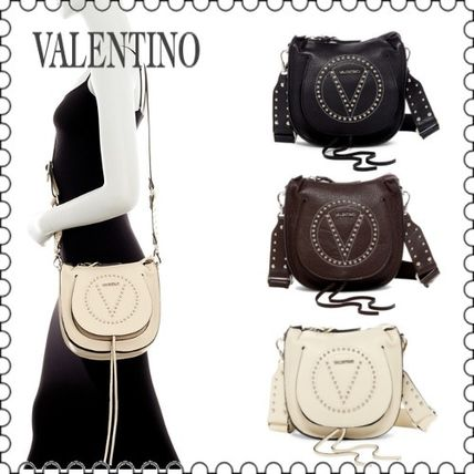【VALENTINO】Sylvie Leather Saddle Bag with Guitar Strap正規