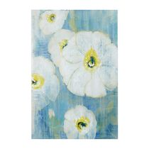 Madison Park 特大61x91cm 絵肌キャンバス A Floral Song White