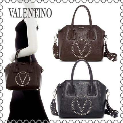 【VALENTINO】Minimi Leather Dome Bag with Guitar Strap(正規)