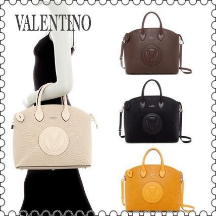 【VALENTINO】Bravia Leather Dome Satchel V9113PS-PS★(正規)