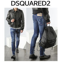 D SQUARED2 ★ 74LB0083 BROTHERS PATCH SLIM FIT JEANS