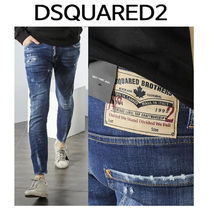 D SQUARED2 ★ 74LB0085 BROTHERS PATCH SEXY TWIST FIT JEANS