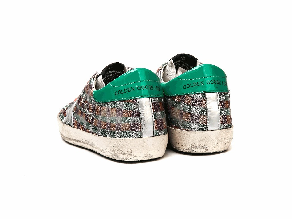 Golden Goose/正規品/EMS/送料込み Super Star Row Top Sneakers