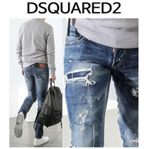 D SQUARED2 ★ 74LB0116 PAINT SPOT WASHING JEANS SLIM FIT