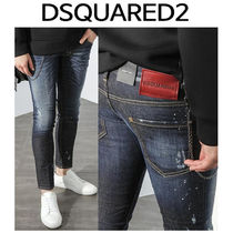 D SQUARED2 ★ WHITE SPOT WASHING JEANS CLEMENT FIT