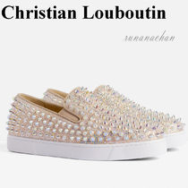 Christian Louboutin Roller Boat Woman Sparkly スリッポン☆