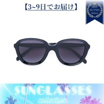 すぐ届く★chunky bug-eye sunglasses