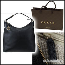 SALE【国内発送】GUCCI GGチャーム A4が入るホーボーバッグ