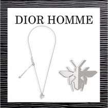 DIOR HOMME(ディオールオム) ネックレス・チョーカー 新作【DIOR HOMME】★RHODIUM FINISH SILVER NECKLACE