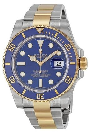 ROLEX Submariner BlueDial Stainless Steel and 18K YellowGold