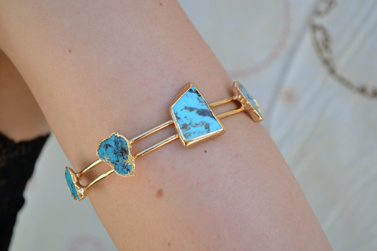 Lux Divine★TURQUOISE ARM BAND ターコイズ ★
