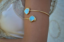 Lux Divine★TURQUOISE ARM BAND ターコイズ アームカフ★