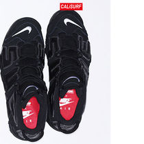 コラボ!サイズ9 Supreme X NIKE AIR MORE UPTEMPO 2017/BLK