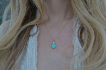 Lux Divine★TERENA AQUA NECKLACE ターコイズ ネックレス★