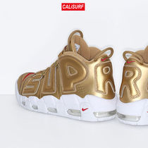 コラボ!サイズ9 Supreme X NIKE AIR MORE UPTEMPO 2017/gold