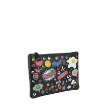 Anya Hindmarch(アニヤハインドマーチ) ファッション雑貨・小物その他 ☆国内発☆Anya Hindmarch/ALL OVER WINK STICKERS POUCH