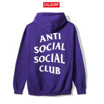 Mサイズ ANTI SOCIAL SOCIAL CLUB PURPLE RAIN HOODY