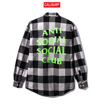 Lサイズ ANTI SOCIAL SOCIAL CLUB WOODMAN FLANNEL
