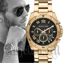 【安心ヤマト便】MICHAEL KORS Brecken Black Watch MK8481