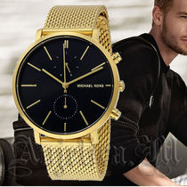 【安心ヤマト便】MICHAEL KORS Jaryn Black Dial Watch MK8503