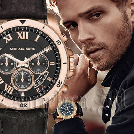 Michael Kors アナログ時計 【安心ヤマト便】MICHAEL KORS Brecken Men's Watch MK8544