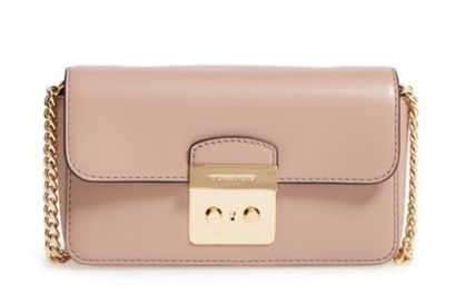 Michael Kors☆Sloan Editor Leather Wallet on a Chain