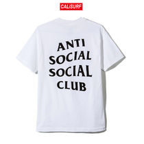 Sサイズ ANTI SOCIAL SOCIAL CLUB Logo Tee 2/WHITE